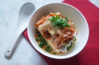 キムチーズ豆腐