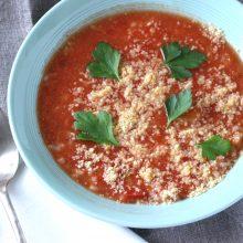 トマトと甘酒の大麦リゾット