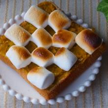 かぼちゃのマシュマロトースト