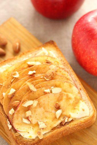アップルチーズトースト〜メープル仕立て〜