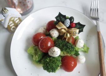 クリスマスにも♡ブロッコリーとミニトマトのサラダ